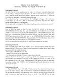 Bài tập thảo luận nhóm Chương 2: Phương tiện thanh toán quốc tế