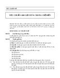 Tiêu chuẩn Mỹ: Tiêu chuẩn gạo lật dùng trong chế biến
