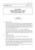 Tiêu chuẩn ngành QP. TL-C-5-75: Quy phạm thiết kế tầng lọc ngược công trình thủy công