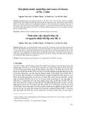 Tính toán vận chuyển bùn cát  và nguyên nhân bồi lấp cửa Mỹ Á
