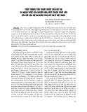 Thực trạng tiêu thoát nước thải đô thị và nhận thức của người dân: Một thách thức lớn đối với các dự án nước thải đô thị ở Việt Nam