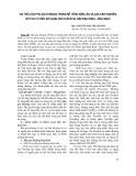 Vai trò của phụ gia khoáng trong bê tông đầm lăn và các kinh nghiệm rút ra từ việc sử dụng phụ gia khoáng cho bê tông đầm lăn đập Định Bình - Bình Định