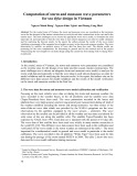 Computation of storm and monsoon wave parameters for sea dyke design in Vietnam