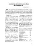 Nghiên cứu các đặc trưng về trạng thái tới hạn của đất không bão hoà