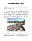 Bảo vệ mái hố móng hầm đường bộ Kim Liên
