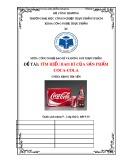 Bài tiểu luận: Tìm hiểu bao bì của sản phẩm Coca-Cola