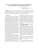 Phân tích thực tiễn và đề xuất các giải pháp thực hiện phân cấp quản lý khai thác công trình thuỷ lợi vùng đồng bằng sông Hồng - TS. Trần Chí Trung