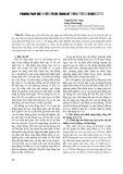 Phương pháp điều khiển tối ưu trong hệ thống treo chủ động ô tô - Nguyễn Đức Ngọc