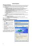 Tổng quan về Internet và e-mail