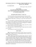 Quyết định Số: 945/QĐ-BGDĐT