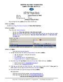 Đề thi thực hành môn Mạng Internet và TMĐT Trường đại học Marketing: Đề số 2