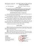 Quyết định Số: 2299/QĐ-BGDĐT