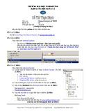 Đề thi thực hành môn Mạng Internet và TMĐT Trường đại học Marketing: Đề số 4