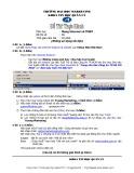 Đề thi thực hành môn Mạng Internet và TMĐT Trường đại học Marketing: Đề số 6