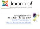 Bài giảng Joomla - Lương Trần Hy Hiến