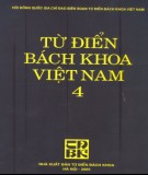 Bách khoa Việt Nam - Từ điển (Tập 4): Phần 2