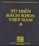 Bách khoa Việt Nam - Từ điển (Tập 4): Phần 1