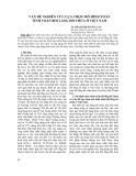 Vấn đề nghiên cứu lựa chọn mô hình toán tính toán bồi lắng hồ chứa ở Việt Nam - TS. Phạm Thị Hương Lan