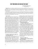 Phát triển nhiên liệu sinh học ở Việt Nam - TS. Nguyễn Quốc Luật