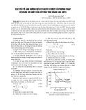 Các yếu tố ảnh hưởng đến co ngót và một số phương pháp dự đoán co ngót của bê tông tính năng cao (HPC) - Nguyễn Quang Phú