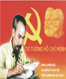 Vận dụng tư tưởng Hồ Chí Minh về văn hóa để xây dựng nền văn hóa Việt Nam tiên tiến đậm đà bản sắc dân tộc