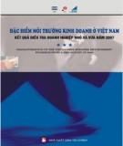 Ebook Đặc điểm môi trường kinh doanh ở Việt Nam: Phần 1