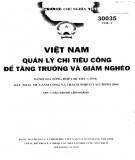 Tăng trưởng và giảm nghèo - Việt Nam quản lý chi tiêu công (Tập 1): Phần 2