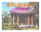 Bài giảng Mỹ thuật Lớp 8: Bài 2 - Thường thức mỹ thuật - Nguyễn Thị Kim Chi