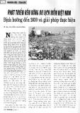Phát triển bền vững du lịch biển Việt Nam định hướng đến năm 2030 và giải pháp thực hiện