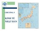 Bài giảng Lịch sử kinh tế - Chương 5: Kinh tế Nhật Bản
