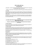 Tiêu chuẩn Quốc gia TCVN 9291:2012