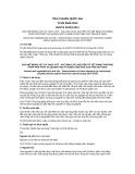 Tiêu chuẩn Quốc gia TCVN 9530:2012 - ISO/TS 21033:2011