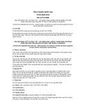Tiêu chuẩn Quốc gia TCVN 9529:2012 - ISO 15774:2000
