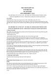 Tiêu chuẩn Quốc gia TCVN 9531:2012 - ISO 15753:2006
