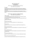 Tiêu chuẩn Quốc gia TCVN 9352:2012