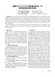 Phương pháp tính toán cột nước bơm cho tưới - tiêu vùng đồng bằng sông Cửu Long