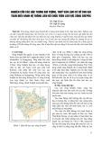 Nghiên cứu các đặc trưng khí tượng, thuỷ văn làm cơ sở cho bài toán điều hành hệ thống liên hồ chứa trên lưu vực sông Srêpôk