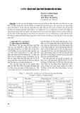 Nghiên cứu đề xuất giải pháp ổn định cửa Đà Rằng