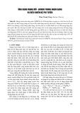 Ứng dụng mạng mờ, Noron trong nhận dạng và điều khiển hệ phi tuyến - Phan Thanh Tùng
