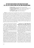 Kết cấu kè bảo vệ mái dốc, tính toán kết cấu tự chèn PĐT-CM-5874 và chân kè HWRU-TOE-2001 bằng phần mềm Abaqus