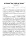 Cần chú trọng hơn nữa đến môi trường nông thôn nước ta - PGS.TS. Nguyễn Quốc Luật
