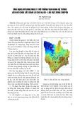 Ứng dụng mô hình Mike11 mô phỏng vận hành hệ thống liên hồ chứa cắt giảm lũ cho hạ du, lưu vực sông Srêpôk - TS. Ngô Lê Long