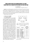 Đánh giá mức độ tồn lưu Polibrom diphenyl ete (PBDE) trong trầm tích tại thành phố Hồ Chí Minh và đề xuất giải pháp - TS. Vũ Đức Toàn