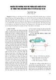 Nghiên cứu phương pháp mô phỏng điều khiển tối ưu hệ thống treo chủ động trên ô tô với hai bậc tự do - Nguyễn Đức Ngọc