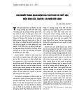 Con người trong quan niệm của Phật giáo và Triết học hiện sinh của Sartre: Cái nhìn đối sánh