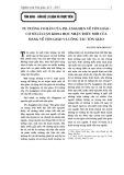 Tư tưởng cơ bản của Ph. Ăngghen về tôn giáo - Cơ sở lí luận khoa học nhận thức mới của Đảng về tôn giáo và công tác tôn giáo