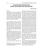 Sự dung hợp Nho-Phật-Đạo trong tín ngưỡng thờ cúng âm hồn