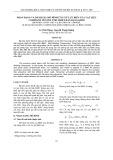 Nhận dạng và đánh giá mô hình ứng xử lưu biến của vật liệu Compozit nền polyme nhiệt rắn dạng khối