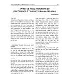 Vài nét về tiếng Khmer Nam bộ (trường hợp ở tỉnh Sóc Trăng và Trà Vinh)