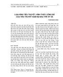Loại hình tiểu thuyết, hình thức công bố của tiểu thuyết Nam Bộ đầu thế kỷ XX